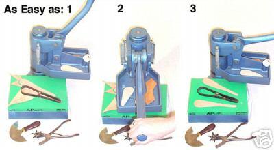 Manual Steel Rule Cutting Press